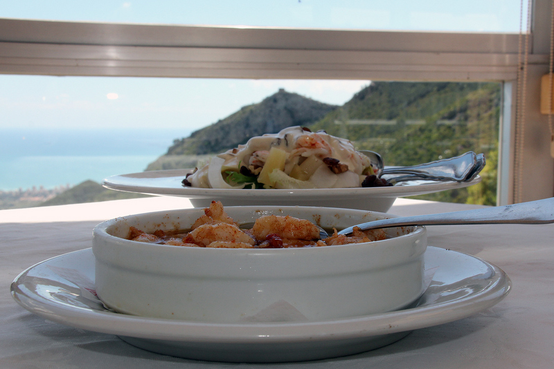 Spain travel guide foodie and wine experiences Desierto de las Palmas views and food wow