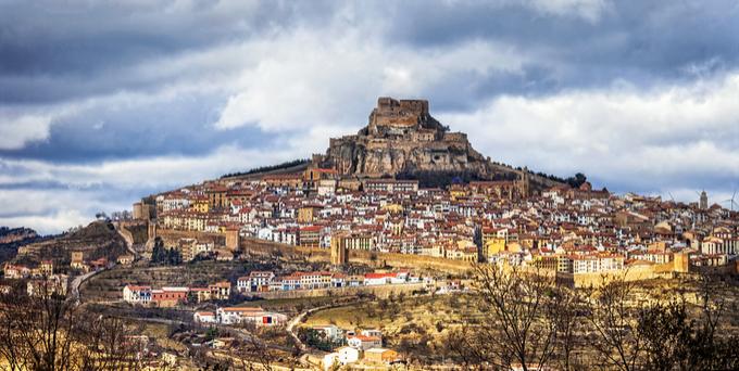 Morella Valencia Spain