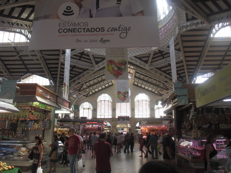 Valencia Spain travel guide- Mercat Central