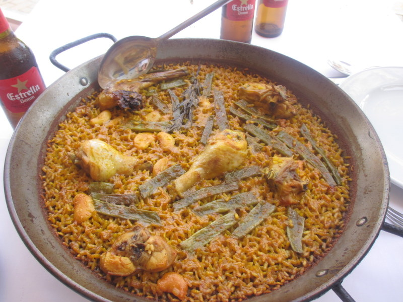 Valencia Spain travel guide- Paella