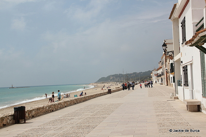 Altafulla beach and promenade