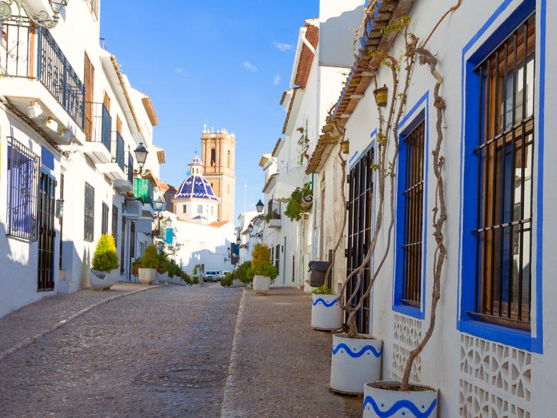 Altea Spain Old Town Costa Blanca-1