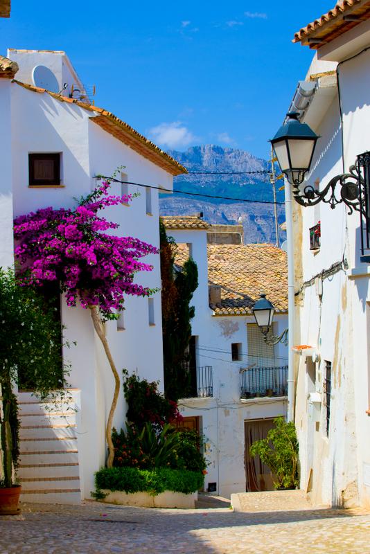 Altea Spain Streets Spain