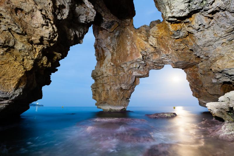 Javea Spain Cave dels Arcs Costa Blanca