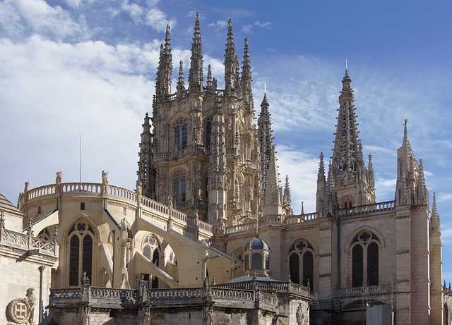 Spain beautiful cities-Burgos Spain Cathedral