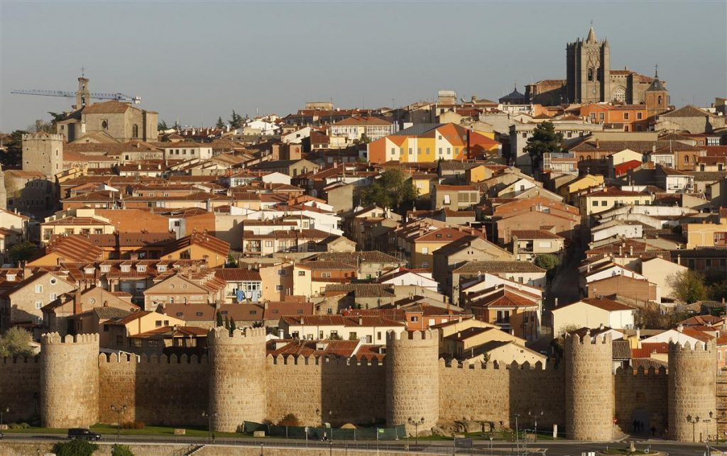 Spain top cities-Avila Spain