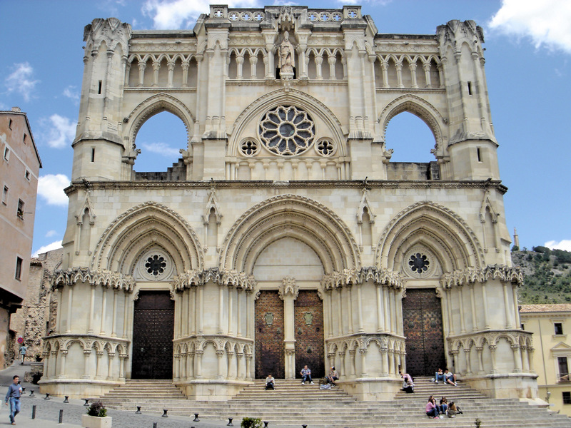 Spain top cities Cuenca Cathedral