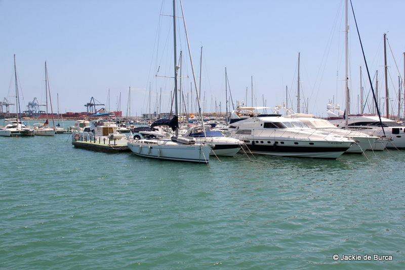Spain top cities-El Grao Castellon Harbour Spain