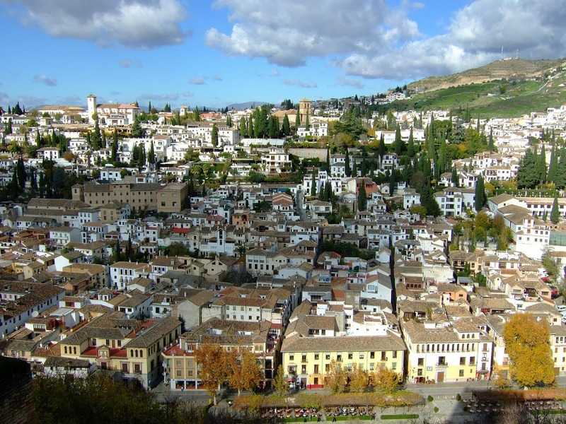 Spain top cities-Granada Spain views (2)