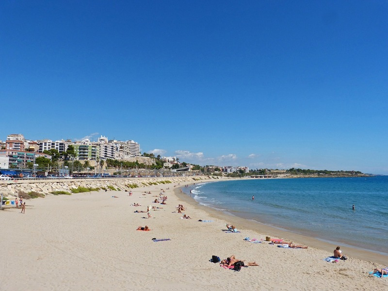 Taragona beaches Miracle beach