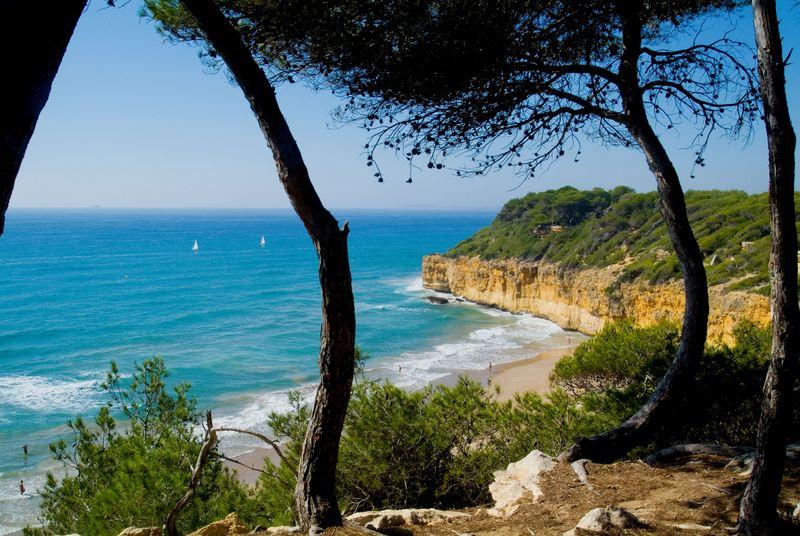 Tarragona Catalonia Cala FondaPlatja Arboçar