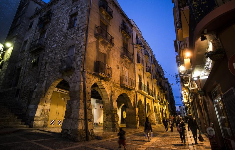 Tarragona Catalonia merceria street