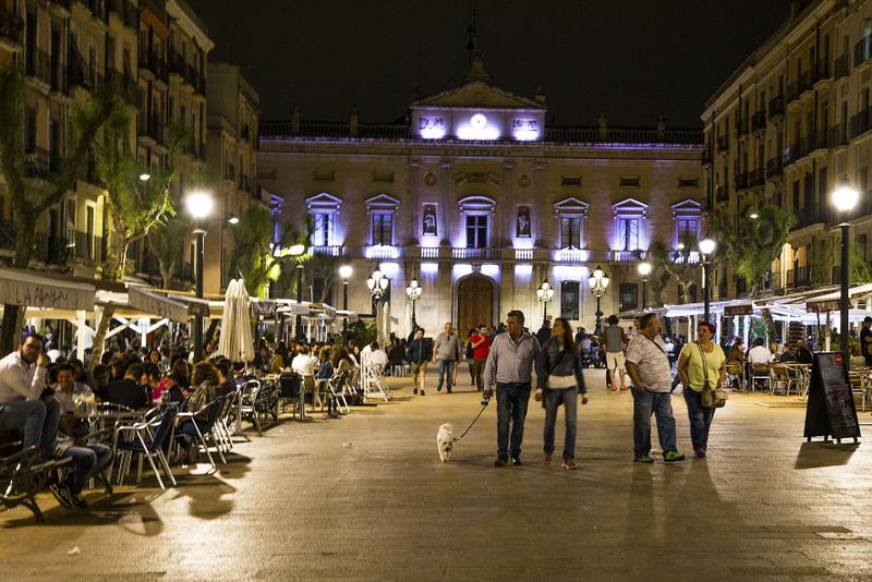 Tarragona Catalonia placa de la font