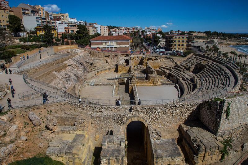 Tarragona Spain Roman Route Amphitheatre