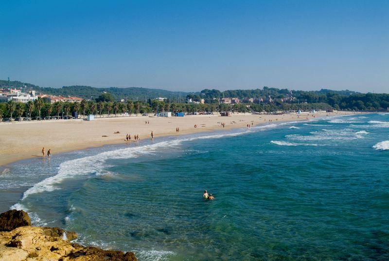 Tarragona Spain arrabassada beach