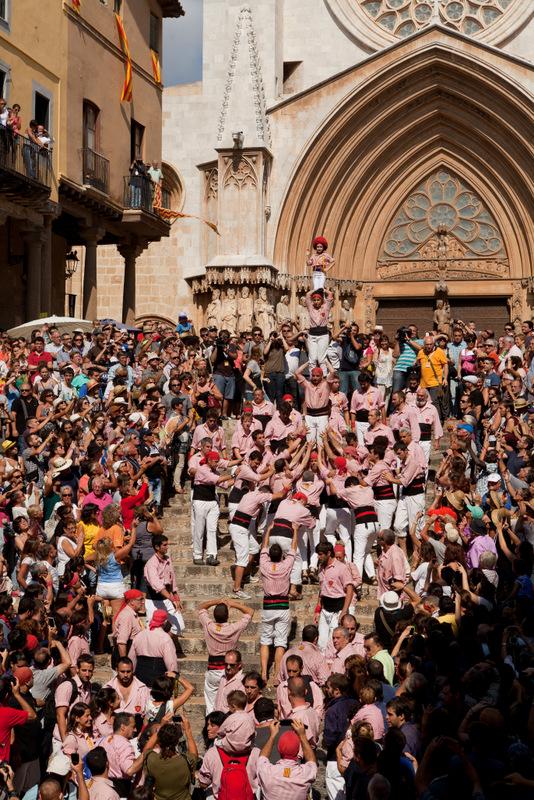 Tarragona Spain human castles (2)