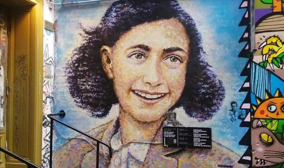 Anne Frank Zentrum Mural Berlin