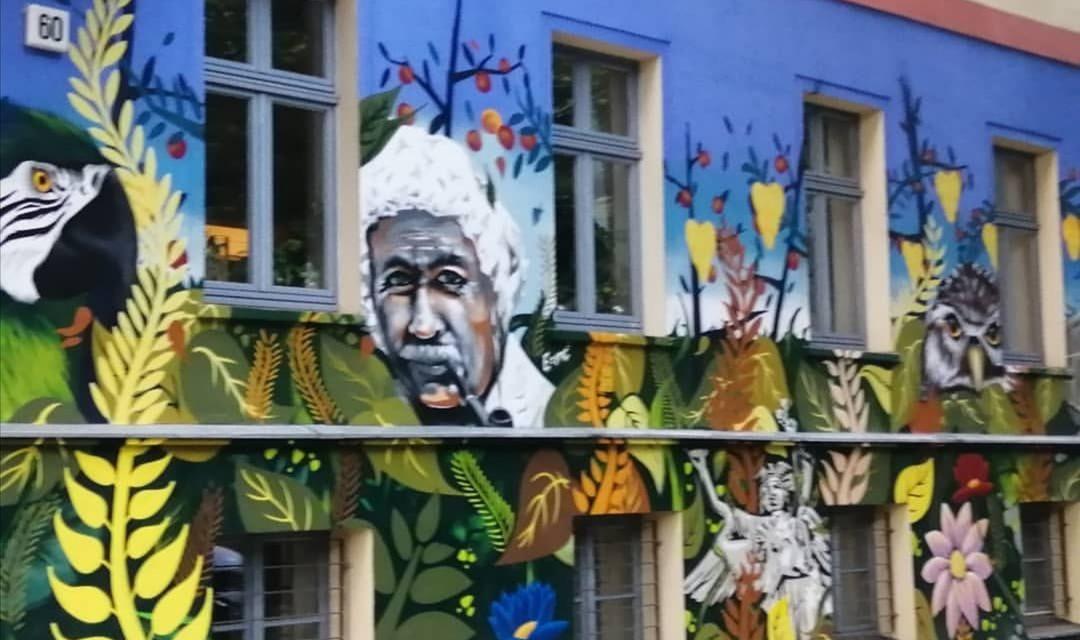 Nelson Mandela East Berlin Mural