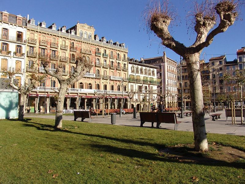 Pamplona Spain Beautiful Cities Plaza del Castillo
