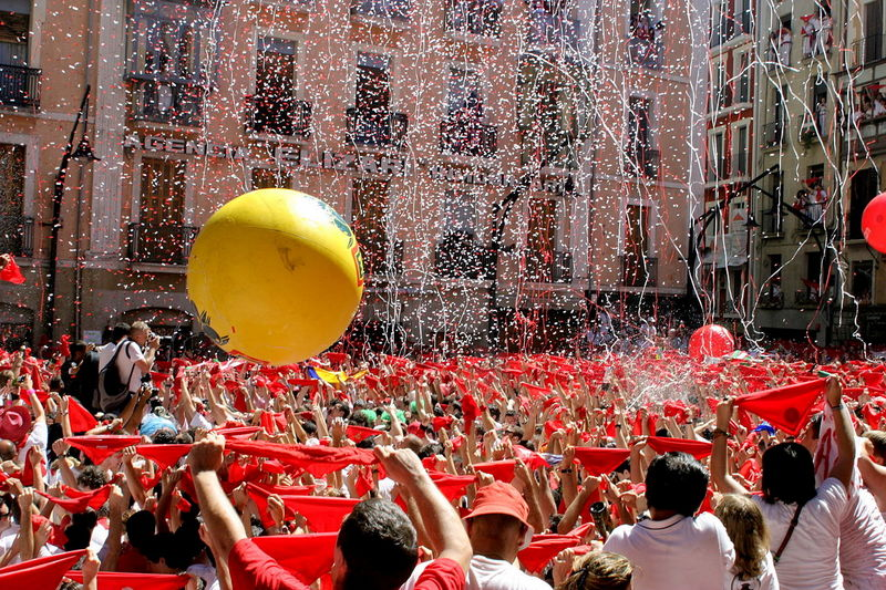 Pamplona Spain Beautiful Cities Running of Bulls