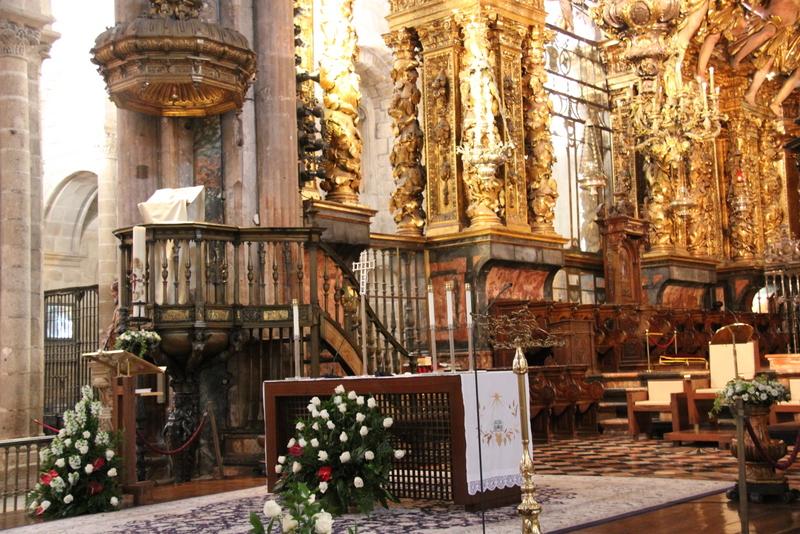 Santiago de Compostela Cathedral Interior