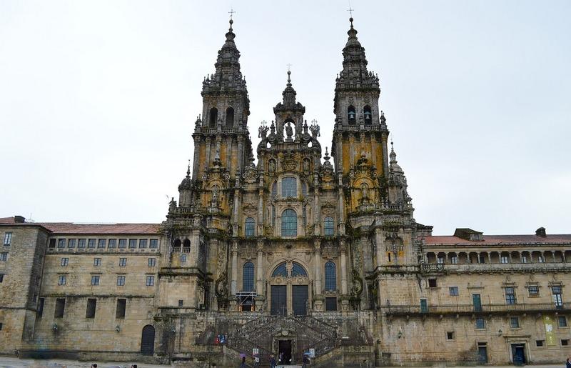 Santiago de Compostela Spain cathedral