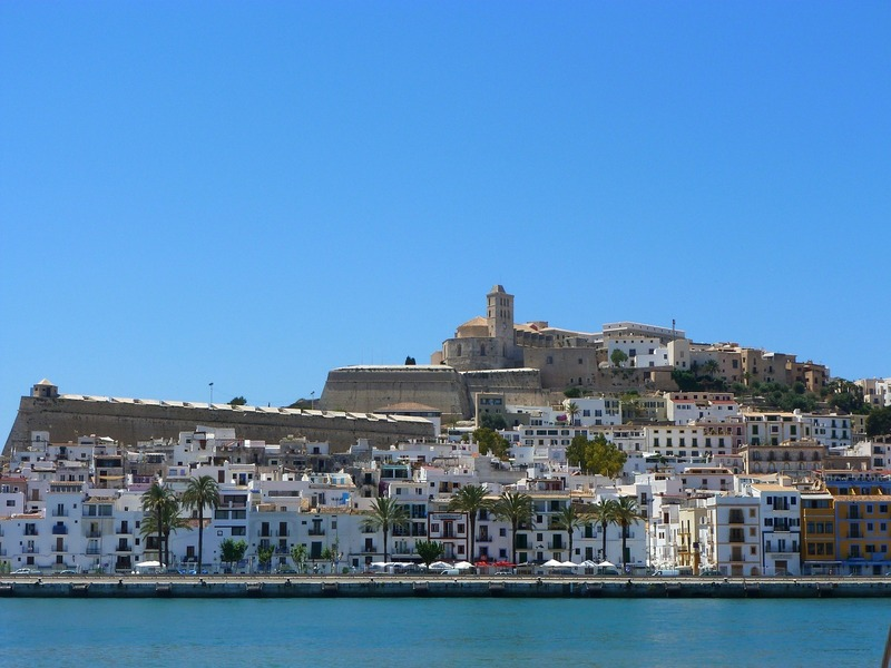 Spain best cities-Ibiza town beautiful view