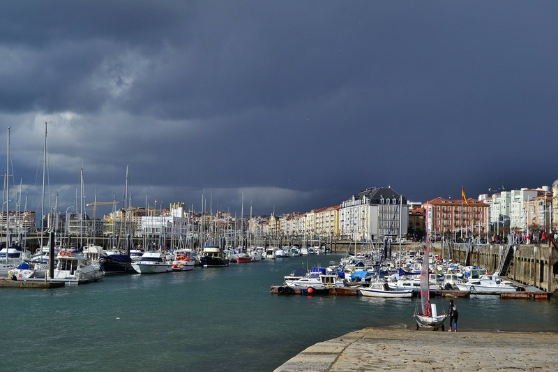 Spain best cities-Santander Bay