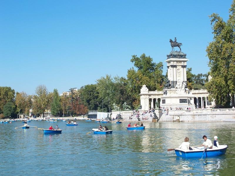 pain top cities-Madrid Beautiful Cities Spain Park Retiro