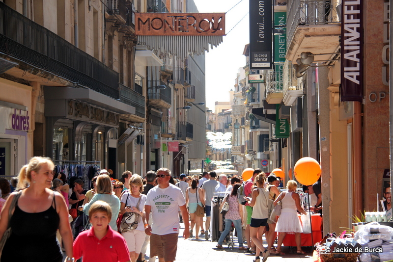 Spain top cities-Reus Spain Streets