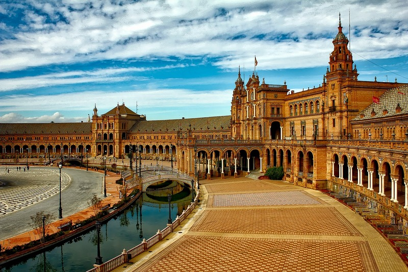 Spain top cities Seville