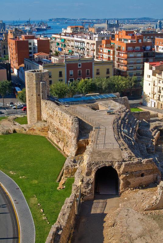 Tarragona Catalonia Roman circus front