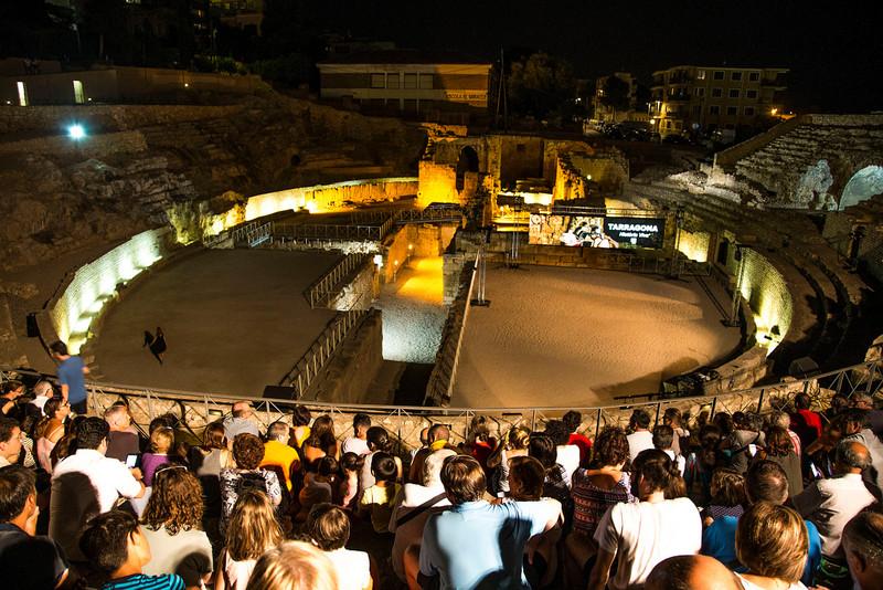 Tarragona Spain Roman amphitheatre