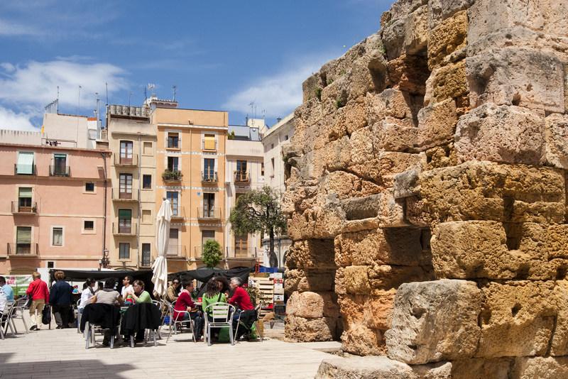 Tarragona holidays Roman forum square