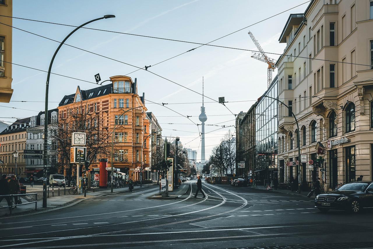berlin architecture tram lines