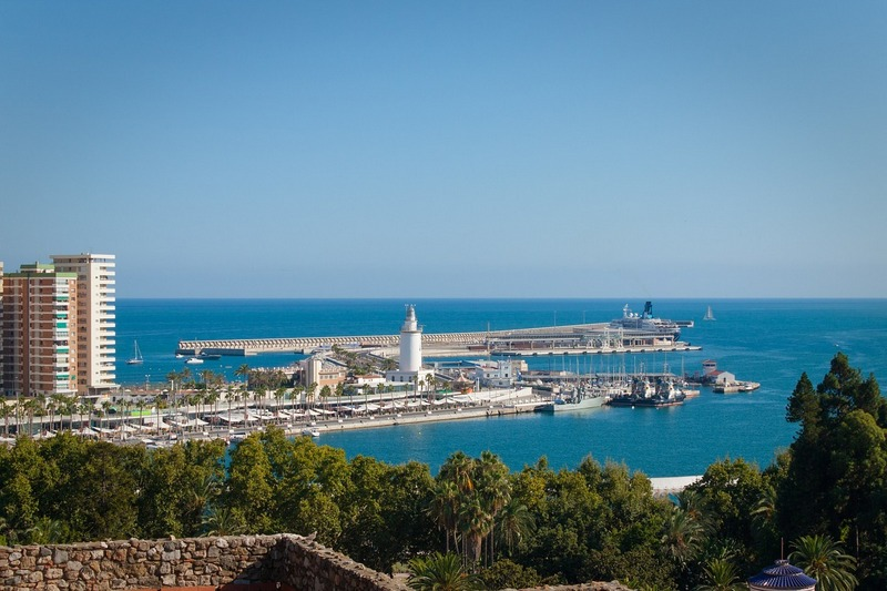 best cities Spain-Malaga Port