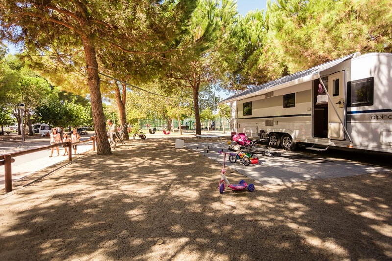 Campsites Tarragona Las Palmeras