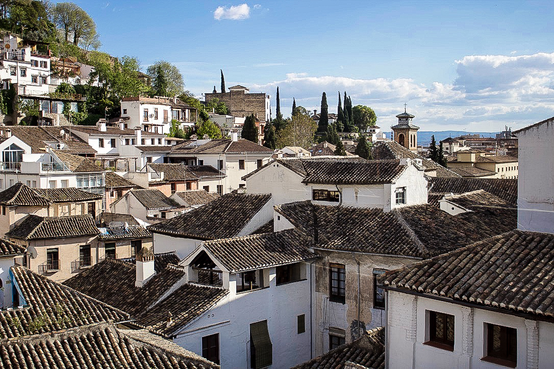 Granada Spain Travel Guide Albaicin roof top view