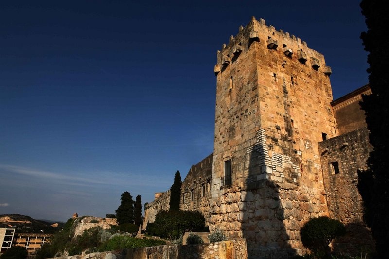 Tarragona Catalonia-The Walls (Archaeological Promenade) © Manel R. Granell