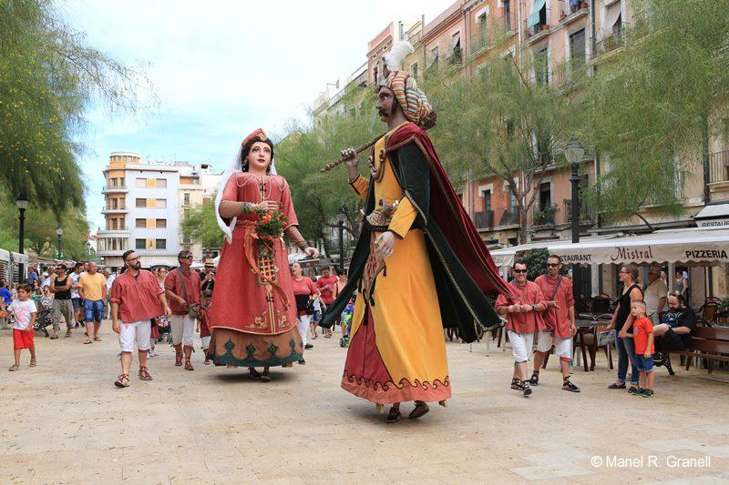 Tarragona Catalonia fiestas Sant Roc