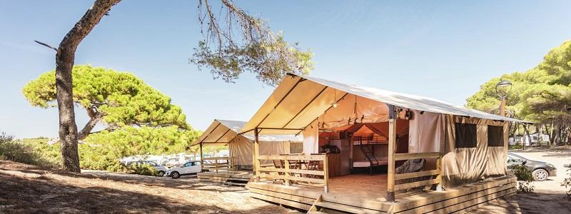 Tarragona camping Las Palmeras lodge