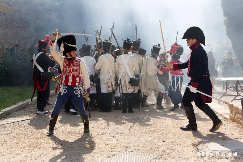 Tarragona festivals 1800 historical reenactments