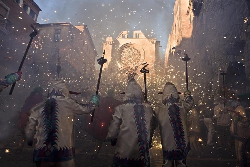 Tarragona festivals Santa Tecla