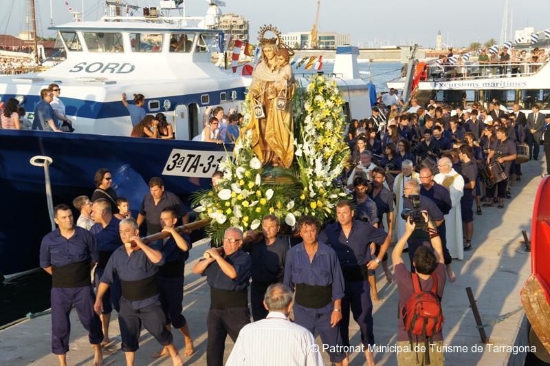 Tarragona festivals Virgin Carmen