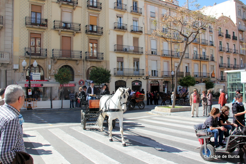 Tarragona fiestas-Tres Tombs Festival Tarragona 2014