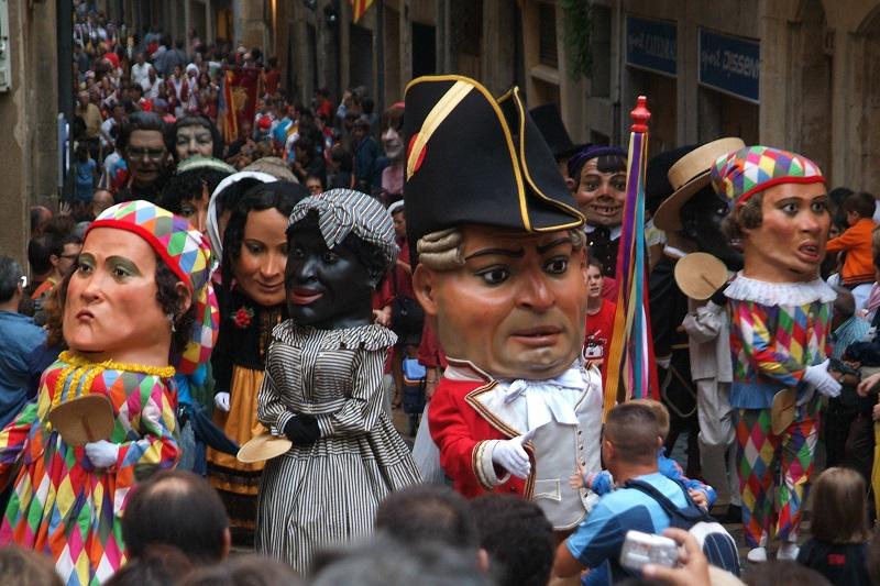 "Tarragona fiestas festivals ""Capgrossos"" (traditional festive characters) © Alberich Fotògrafs-2"