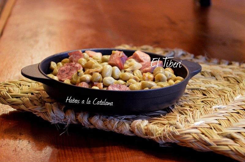 best restaurants Tarragona El Tiberi beans Catalan style