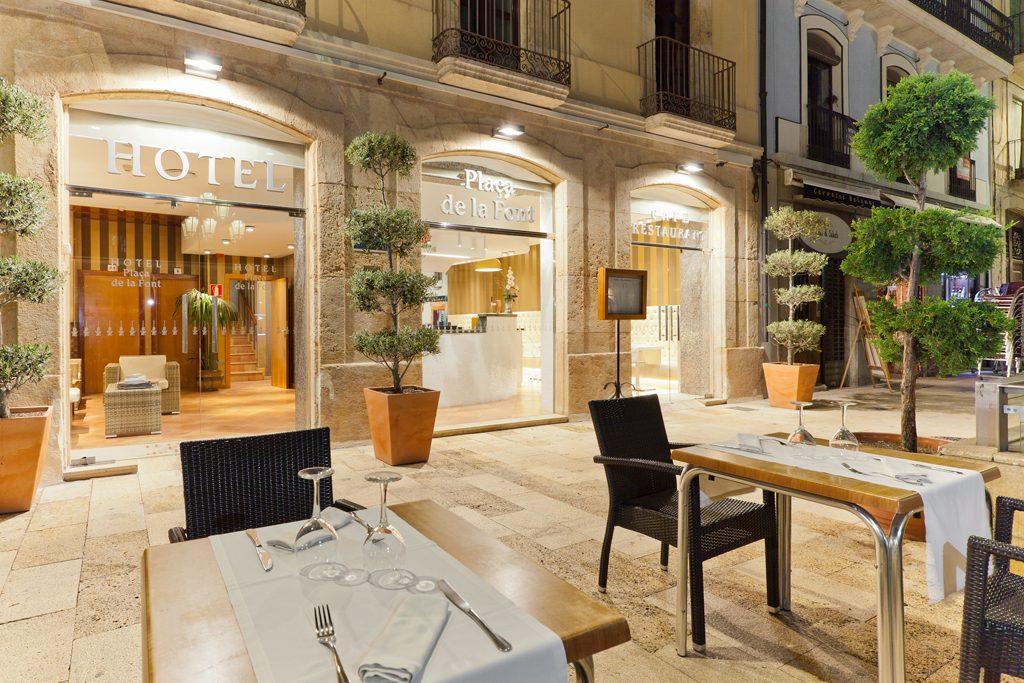 hotels Tarragona hotel de la font