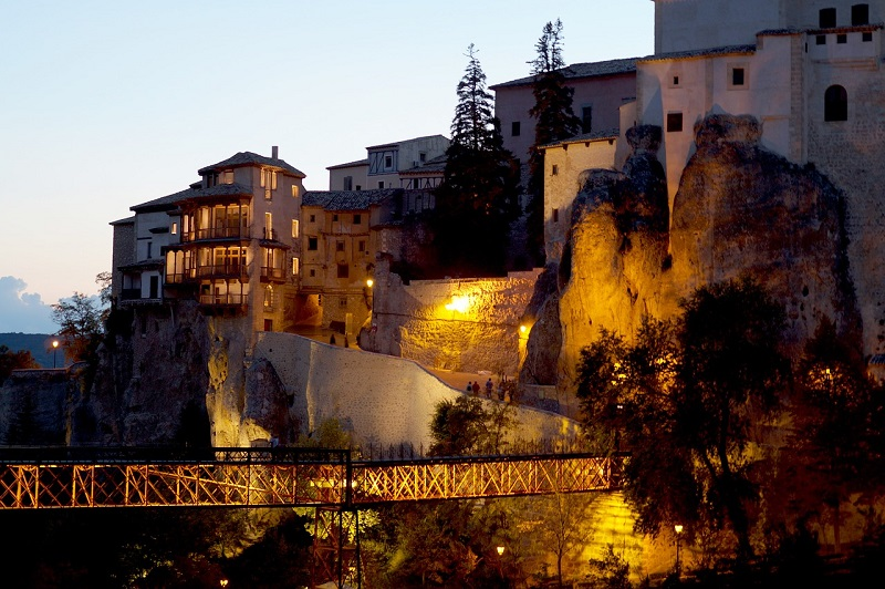 Cuenca Spain bridge over canyon