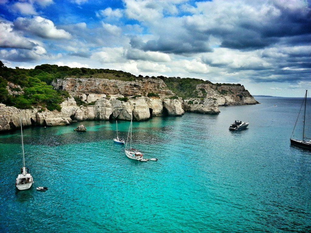 Menorca bay